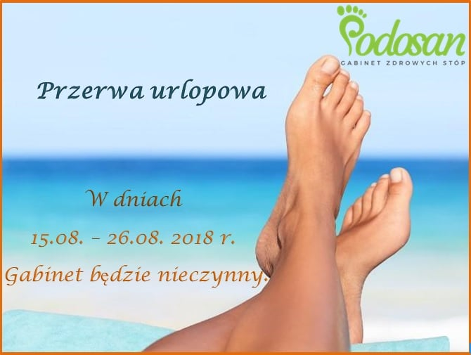Read more about the article Przerwa urlopowa